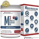 Nitric Oxide Powder L Arginine + L Citrulline Heart Health - BioNox Nutrients - M3 Miracle Molecule Max - Arginine Citrulline, Beet Root, Nitrous Oxide, Heart Health Supplement
