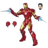 CAPTAIN AMERICA Avengers Legends Iron Man Action Figure, 12-Inch