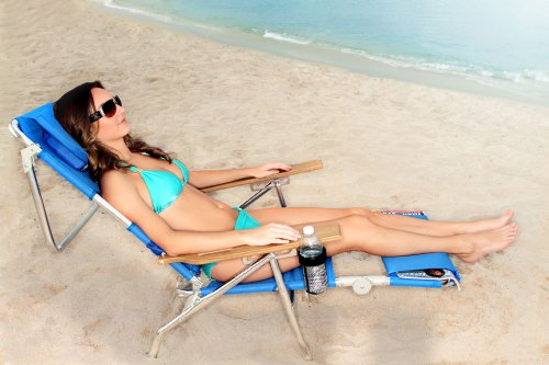 Super Deluxe Padded 3 in 1 Beach Chair / Lounger by Ostrich (Image #4)