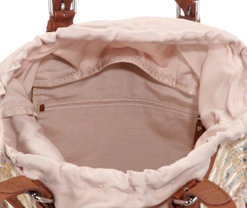 D15041 Damentasche Asas Lona De Bolso Beige Para Esprit Mujer O1nax7zfx4