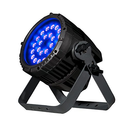 American DJ UV 72IP | High Powered 72 watt UV LED, IP65 rated, Outdoor/Indoor fixture, IP rated in & out DMX by American DJ