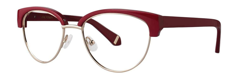Eyeglasses Zac Posen ETHEL MAROON Maroon