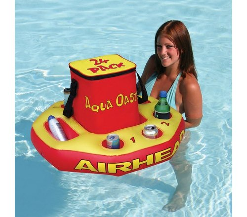 (AIRHEAD Aqua Oasis Insulated Cooler with Removable Floating)
