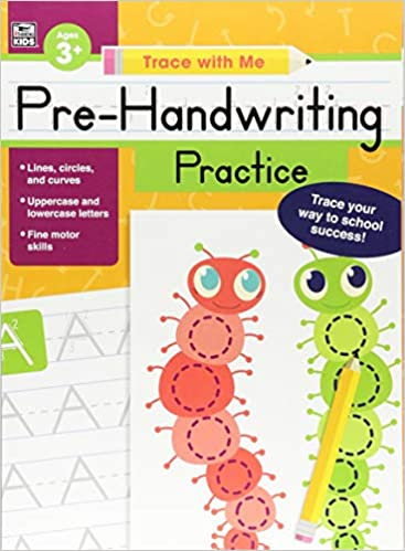 amazon pre handwriting practice trace with me thinking kids