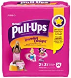 Huggies Pull-Ups Original Training Pants - Learning Designs - Girls - 2T-3T - 104 ct