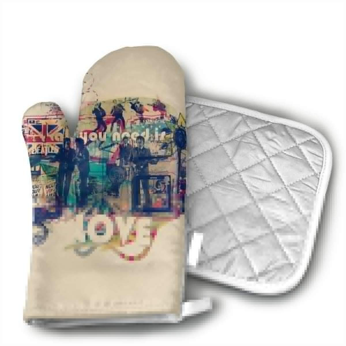 Beatles All You Need is Love Pot Holder Cook Baker Gift