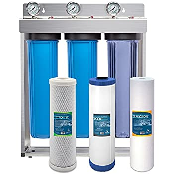 Express Water Whole House Water Filter System Carbon Kdf
