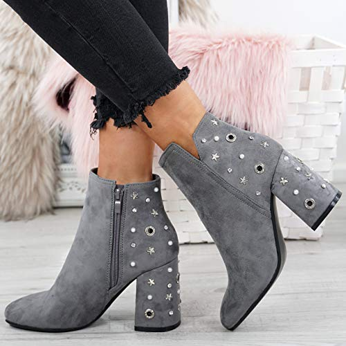 Sandales Fashion Compensées Femme Gris Cucu Clair w5B4n