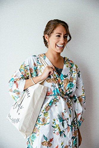DIY Bridal Shower Gift Something New for the Bride Tote Gift Bag Wedding Day Survival Kit