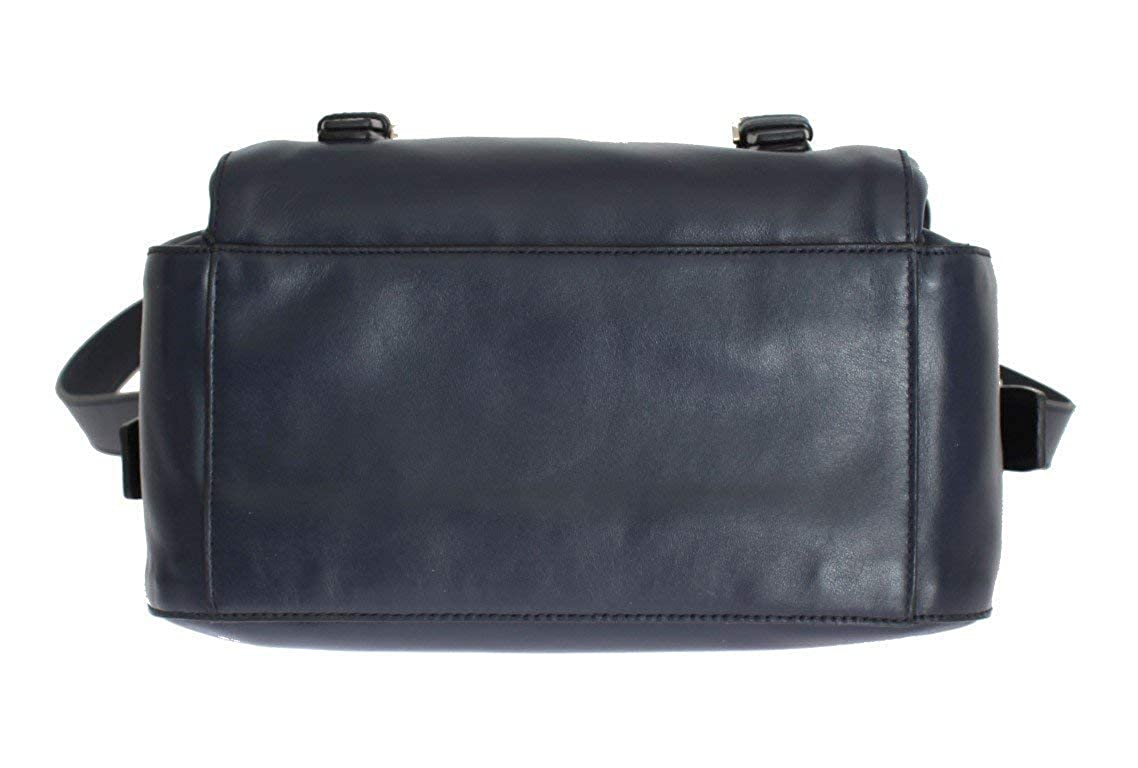 84c6b82f5dd2 Amazon.com: Prada Soft Baltic Blue Calfskin Leather Messenger Bag BT953L:  Shoes