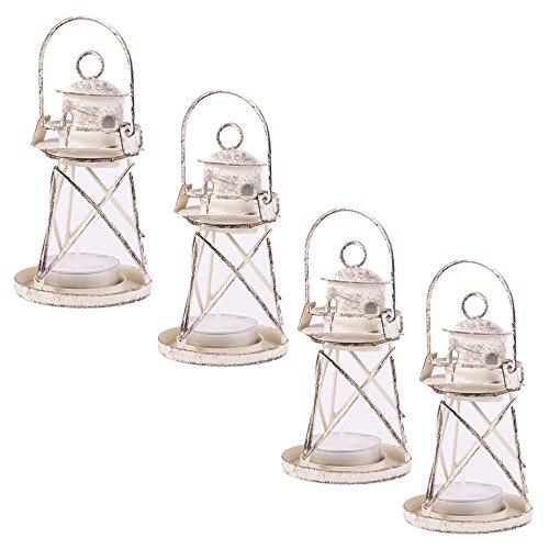 Lighthouse Tealight Lantern - 5
