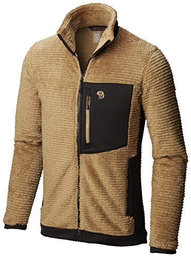 Mountain Hardwear Mens Monkey Man Fleece Jacket - Sandstorm - L