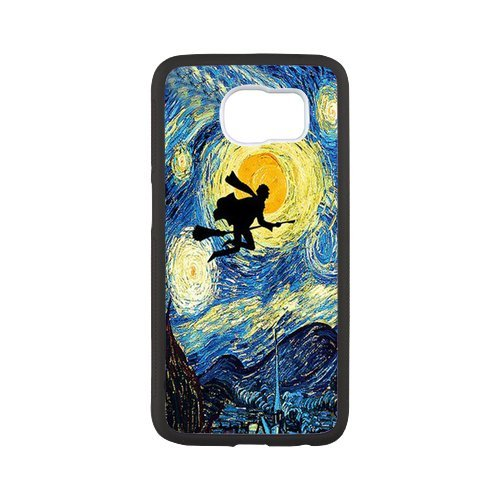 Fayruz- Personalized Protective Hard Textured Rubber Coated Case Cover for Samsung Galaxy S6 - Harry Potter -S6O913