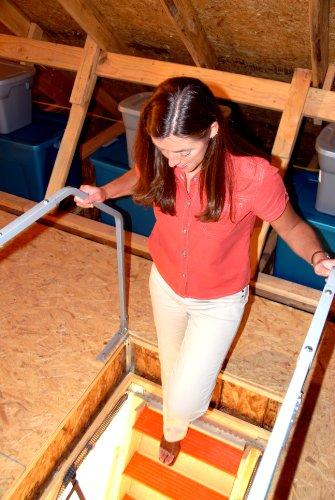 Versa Lift Attic Ladder Safety Railing, Model# VR-60 by Versa-Lift (Image #2)