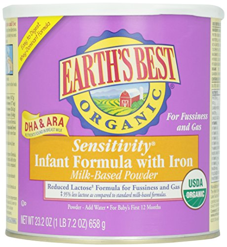 Earth's Best Infant Formula Sensitivity w/ Iron