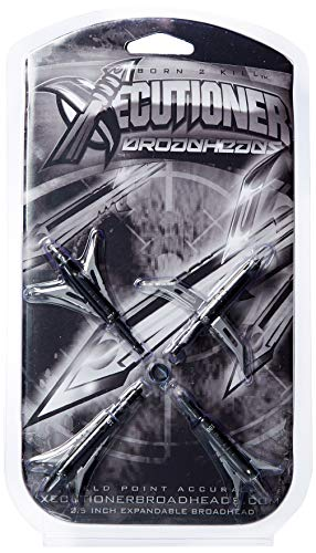 - Xecutioner Broadhead Expandable Black 100 gr (Pack of 4)