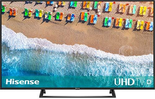 Hisense H55BE7200 138 cm (55 Zoll) Fernseher (4K Ultra HD, HDR, Triple Tuner, Smart-TV, Mittelfuß) [Modelljahr 2019]