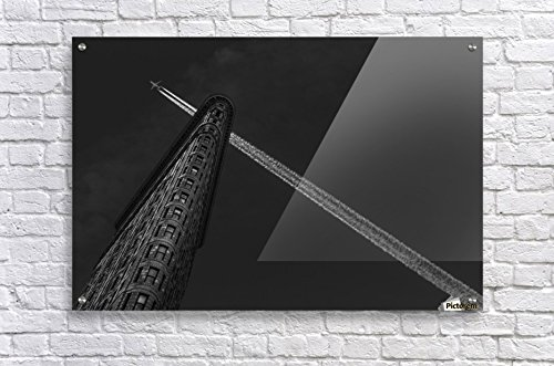 Acrylic Fine Art Wall Decor 36X24 New York - Flatiron crossing by Michael - Flatiron Crossing