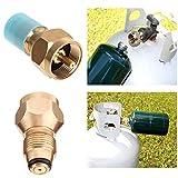 FidgetFidget Bottle Tanks Refill Small 1 LB Propane Camping Fishing Adapter Lp Gas Cylinder