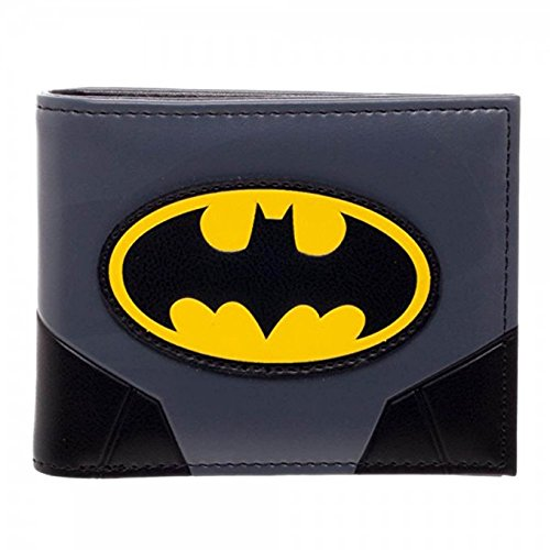 Batman Products : Batman Gold Logo Bi-fold Wallet