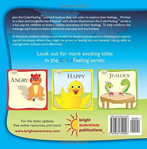 Sad: Helping Children Cope With Sadness (ColorFeeling) (Volume 2 ...