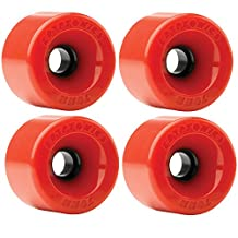 Kryptonics Star Trac 70mm 78a Red Skateboard Wheels (Set of 4)