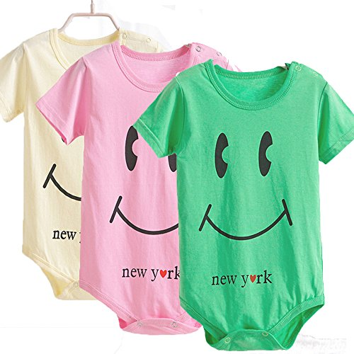 baby-girls-boys-3-pack-short-sleeve-bodysuits-9-12-months-yellowpinkgreen