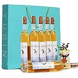誉宾 冰酒6支礼盒装 冰山白葡萄酒 甜酒 女士闺蜜送礼 葡萄酒 整箱