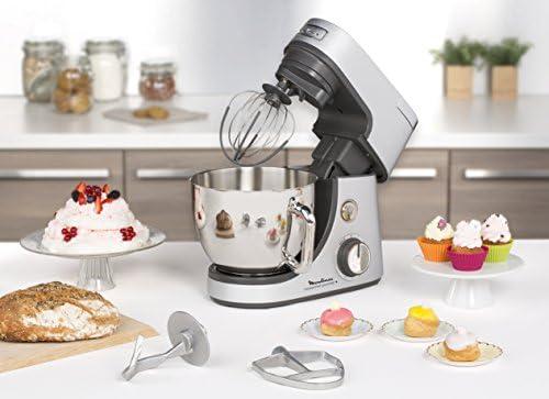 Moulinex QA610D Robot Masterchef Gourmet + amasadora con 8 velocidad y 3 Funciones: Amazon.es: Hogar
