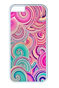 iPhone 6 Plus Case, Personalized Protective Hard PC White Case Cover for Apple iPhone 6 Plus(5.5 inch)- Color 02