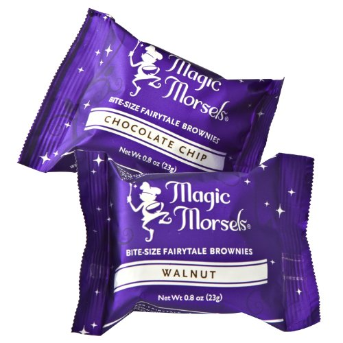 Fairytale Brownies Thinking of You Magic Morsel 36 Gourmet Chocolate Food Gift Basket for Sympathy Good Luck or All-Occasion - 1.5 Inch x 1.5 Inch Bite-Size Brownies - 36 Pieces - Item CT436 by Fairytale Brownies (Image #2)