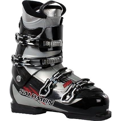 9e26a3750d9 Amazon.com : Salomon Mission 550 Ski Boots Black/Silver 26.5 ...
