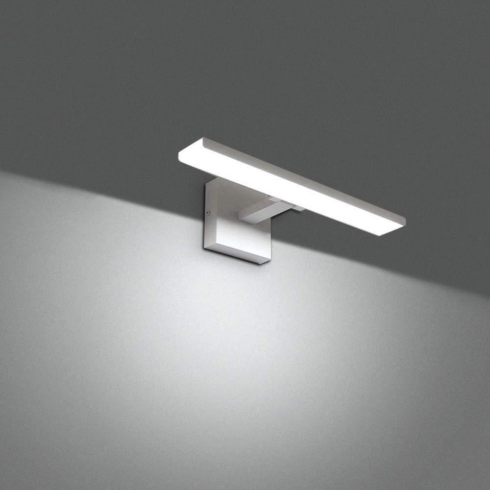 Ikakon Modern Vanity Lights Bathroom Wall Lights Aluminum Vanity Lamp 16W White by Ikakon (Image #4)