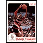 be7eaf4b Mychal Thompson Signed Los Angeles Lakers Basketball Jersey
