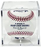 #7: THE ORIGINAL BALLQUBE UV Grandstand Baseball Display Case Square