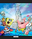 Notebook: Cute SpongeBob SquarePants Patrick Star Squidward Tentacles Eugene H. Krabs Gary the Snail Cartoon Funny Writing Taking Notes Soft Glossy ... Lined Pages Book 7.5 x 9.25 Inches 110 Pages