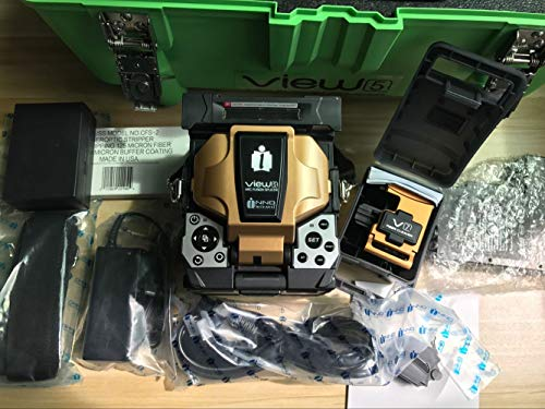 INNO View 5 Fusion Splicer SM, MM, DS, NZDS with V7 Cleaver 35 kinds of language
