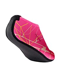 Kingfansion Shoes Men Women Quick-Dry Water Shoes Barefoot Aqua Socks for Yoga Beach Swim Pool Exercise Surf
