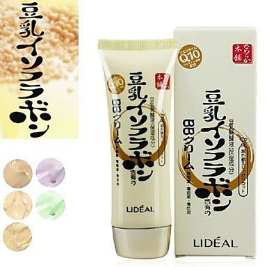 QINF LIDEAL?Soybean BB Cream Skin Repair Bare Makeup Whiteni