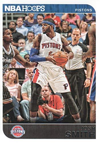 (2014-15 NBA Hoops Basketball Red Backs #77 Josh Smith Detroit Pistons)