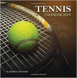 2019 Tennis Calendar Tennis Calendar 2019: 16 Month Calendar: Amazon.co.uk: Mason