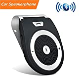 Car Speakerphone with Bluetooth, Aigital Wireless in-Car Speaker Motion AUTO Power ON Audio Receiver Adapter HD Sound for Handsfree Talking