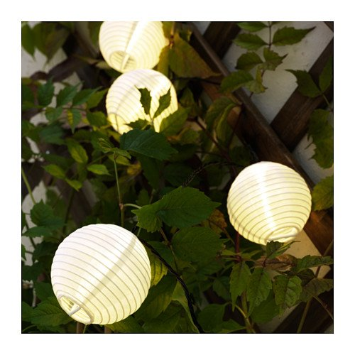 Solvinden Dekorationlampions Für Lichterkette Ikea Weiß 12er Pack