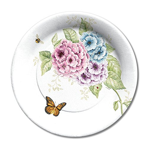 Lenox Butterfly Meadow Coated Paper Dinner Plates 8 Count