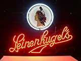 LEINENKUGELS Real Glass Beer Bar Pub Store Party Homeroom Decor 17x14