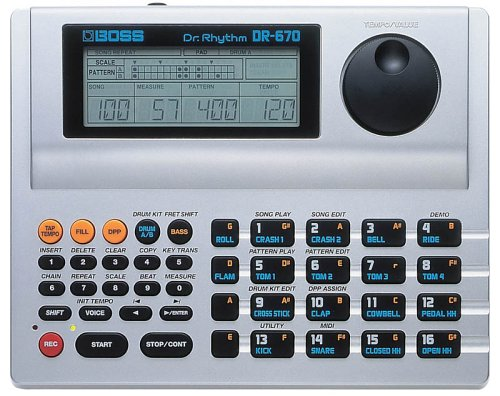 BOSS DR-670 Dr. Rhythm Drum Machine