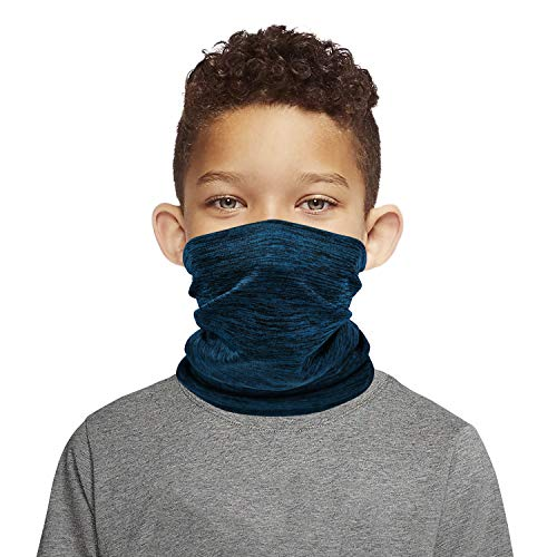 Kids Neck Gaiters With 10 Carbon Filters Face Covering Bandanas for Boys Girls