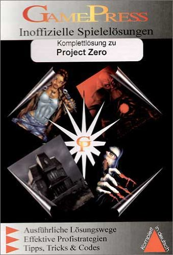 Project Zero (Lösungsbuch)