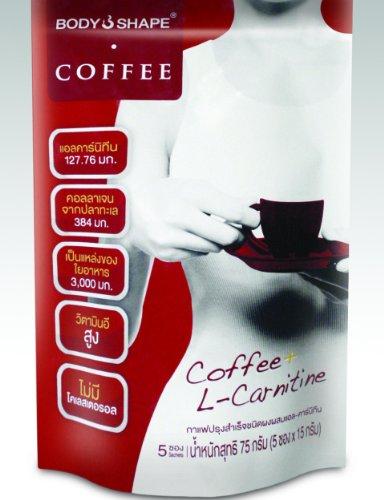 Body Shape Coffee 0 Calorie café instantané bon pour la perte de poids de 75 G.