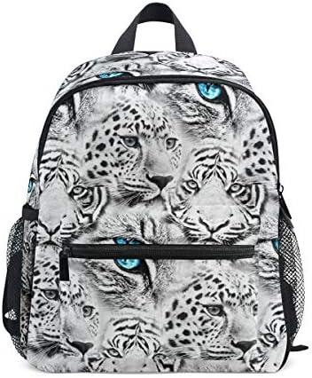 リュック 虎とヒョウ 子供 キッズ バッグ 軽量 大容量 通学 遠足 散歩 男の子 女の子 入学 お祝いプレゼント